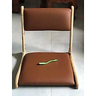 Ghế bệt có tựa lưng ngồi sát đất Pisu - TẶNG KÈM ĐÈN LED USB thumbnail