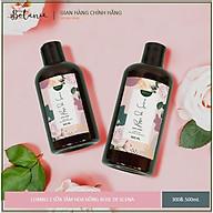 Combo 2 Chai Sữa Tắm Hương Hoa Hồng Dưỡng Da Botanie Rose de Scena - Không gây khô da, nhờn ít - 500ml và 300ml thumbnail