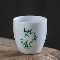 Combo 6 chén sứ uống trà cảnh đức 012 Trúc Đoạn thumbnail