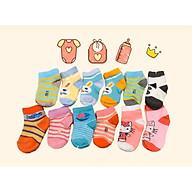 Set 2 đôi tất trẻ em chất liệu cotton đẹp size cho bé 1 đến 3 tuổi, hình đẹp sắc nét giá siêu rẻ thumbnail