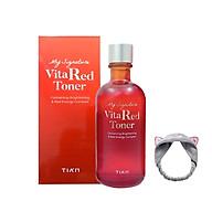 Nước Hoa Hồng Dưỡng Trắng, Se Khít Lỗ Chân Lông Tia m My Signature Vita Red Toner 130ml + Tặng kèm 1 băng đô tai mèo xinh xắn ( màu ngẫu nhiên) thumbnail