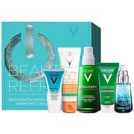 Bộ sản phẩm VICHY Beauty Refresh Box giúp làm sạch, giảm dầu ngừa mụn và bảo vệ tối ưu cho da dầu mụn thumbnail