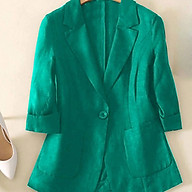 Áo blazer túi ốp Green thumbnail