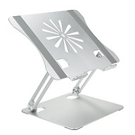 Laptop Bracket Aluminium Alloy Radiator Foldable Large Bearing Capacity Portable Laptop Support Base thumbnail
