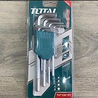 Bộ lục giác (1.5-10mm) 9 chi tiết Total THT106191 thumbnail