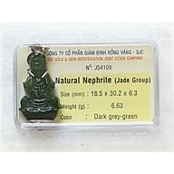 Tượng Phật Ngọc Bích - Tượng Phật Phong Thủy - Đá Phong Thủy Ngọc Bích - J54109 thumbnail