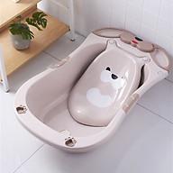 Chậu tắm cho bé hình gấu cho trẻ sơ sinh-4 tuổi giặt đồ quần áo nhựa PP an toàn chống trượt thumbnail