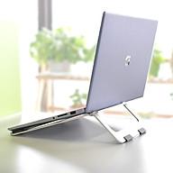 Giá Đỡ Dành Cho Laptop Macbook, Máy Tính Xách Tay - Chất Liệu Hợp Kim Nhôm Cao Cấp, Dễ Dàng Gấp Gọn - Hàng Chính Hãng LuxOff thumbnail