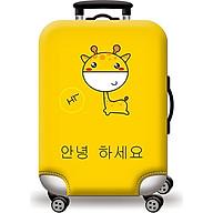 Túi bọc bảo vệ vali -Áo vỏ bọc vali - Hươu Cao Cổ H112 thumbnail