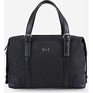 Túi xách du lịch đa năng unisex chữ nhật phối dây da IDIGO UB2-517-00 thumbnail