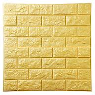 Xốp dán tường 3D Vân đá Vàng Loại dày KT 77X70 thumbnail