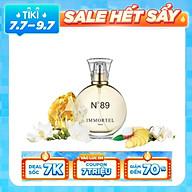 Nước hoa IMMORTEL PARIS No89 Dung Tích 60ML Eau De Parfum - Với mùi hương đầy lôi cuốn tạo nên một vẻ đẹp phương Đông mềm mại. thumbnail