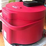 Nồi Cơm điện hợp kim nhôm dày, nấu cơm ngon chín đều ,Lòng nồi dày, phủ lớp chống dính an toàn cho sức khỏe thumbnail