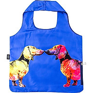 Túi Xách XOX Bag Dachshund Couple Blue thumbnail