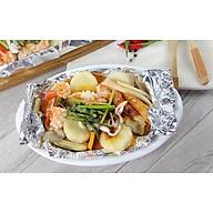 Giấy bạc bọc nướng thực phẩm 30x5 thumbnail