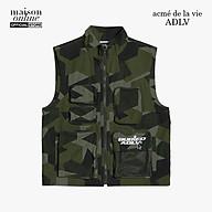 ADLV - Áo khoác sát nách phối zip BA x ADLV Outpocket Vest Indigo ADLV-20FW-VTBAOP-CFG thumbnail