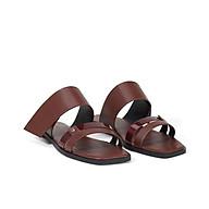 Giày sandal hở gót quai ngang Juno SD01091 thumbnail
