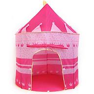 Lều chơi cho bé BIDAMOP-màu hồng thumbnail