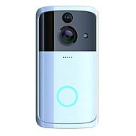 Hilabee 1080P Bạc Video Chuông Cửa Dây-Giá Rẻ Camera An Ninh PIR-Phát Hiện Chuông thumbnail