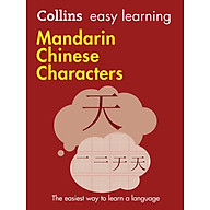 Collins Easy Learning Mandarin Chinese Characters The Easiest Way to Learn a Language thumbnail