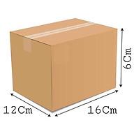 16x12x6 - Combo 20 thùng giấy gói hàng, thùng carton thumbnail