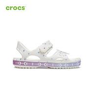 Giày xăng đan trẻ em crocs Funlab Disney Frozen II band 206172 thumbnail