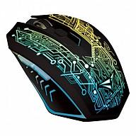 Chuột gaming Alcatroz X-Craft Tron 5000 - chuyên game - dây chống đứt - hàng chính hãng thumbnail
