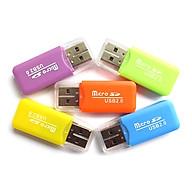 Bộ 5 đầu đoc thẻ nhớ mini MicroSD (Giao màu ngẫu nhiên) thumbnail