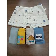 Set 5 quần lót đùi cho bé trai (hàng 100% coton ) hình hoạt hình dễ thương thumbnail
