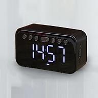 Loa bluetooth kiêm đồng hồ báo thức A5 màn hình tráng gương, hiển thị màn hình kĩ thuật số và đèn led, nghe nhạc hay, sống động, hỗ trợ USB, thẻ nhớ, đài fm radio, nhiều màu tự chọn - Hàng chính hãng thumbnail