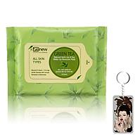 Khăn tẩy trang dưỡng ẩm dịu nhẹ Benew Make Up Remover Packs Hàn Quốc 45g Kèm móc khoá thumbnail