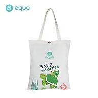 Túi vải EQUO thiết kế Save the Turtles sử dụng được nhiều lần size 630 350 thumbnail