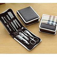 Hộp dụng cụ cắt móng tay bộ 9 món PINK231 Pink Xinh Decor nhỏ gọn mang đi đồ dùng tiện ích gia đình thumbnail