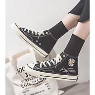Giày thể thao nữ cổ cao CV Cúc Họa Mi thời trang V231 thumbnail
