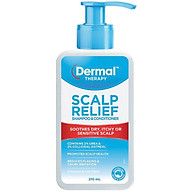 Dermal Therapy Scalp Relief Shampoo & Conditioner 210ml thumbnail