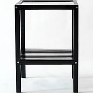 Kệ Gương Đa Năng Glass Shelf Nội Thất Kiểu Hàn BEYOURs - Đen thumbnail