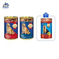 Combo 2 lon Pate cho chó SmartHeart 400g-Tặng kèm 1 gói Pate Smartheart 130g thumbnail