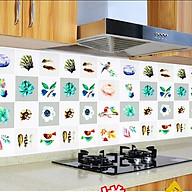 Cuộn 3 Mét Decal Giấy Dán Bếp Tráng Nhôm Cách Nhiệt Hoa Và Chim (3 Mét Dài x 0.6 Mét Rộng) thumbnail