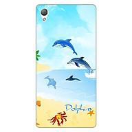 Ốp lưng dẻo cho Sony Z3 _Dolphins 01 thumbnail