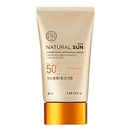 THE FACE SHOP Natural Sun Eco Power Long Lasting Sun Cream thumbnail