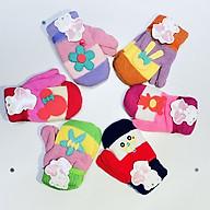 Găng tay len 2 ngón hình thú dễ thương, màu sắc đa dạng, dành cho bé từ 1-4 tuổi, bao tay len , găng tay 2 ngón thumbnail