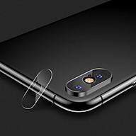 Miếng dán kính cường lực Camera cho iPhone X iPhone Xs iPhone Xs Max hiệu Benks mỏng 0.15mm chất lượng ảnh chụp nét như lúc chưa dán - Hàng nhập khẩu thumbnail