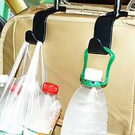 Bộ 2 móc treo đồ giá rẻ gắn sau ghế ô tô xe hơi tiện lợi thumbnail