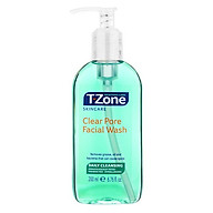 Gel rửa mặt tinh chất tràm trà T-Zone Clear Pore Facial Wash daily cleansing 200ml, se khít lỗ chân lông, cho da dầu mụn, hàng chính hãng thumbnail