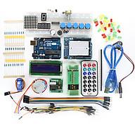 Bộ Kit Học Tập Thực Hành Lập Trình Arduino Uno R3 Cơ Bản V1 thumbnail