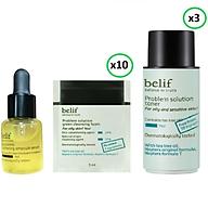 Bộ sản phẩm làm sạch, cân bằng và dưỡng trắng chống oxy hóa chiết xuất từ thiên nhiên Belif 51ml thumbnail