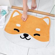 Thảm chùi chân thảm trang trí để cửa phòng, cửa nhà vệ sinh, thảm lót chân thumbnail