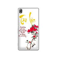 Ốp lưng dẻo cho điện thoại Sony Xperia Z3 - 01149 7933 TAILOC02 - in chữ thư pháp Tài Lộc - Hàng Chính Hãng thumbnail