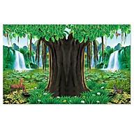 Decal cây bồ đề trang trí bàn thờ CayBoDe_4 nhiều kích thước thumbnail