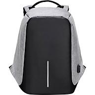 Balo Laptop Chống Trộm HighQuality HQ002 - Xám (45 x 15 x 35 cm) thumbnail